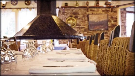 Avet Blau restaurant Montseny Panta de santa fe parc natural