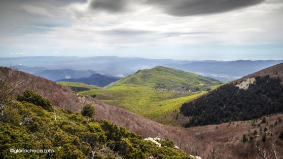 Avet Blau Restaurant. Vall de Santa Fe del Montseny de camí a les Agudes
